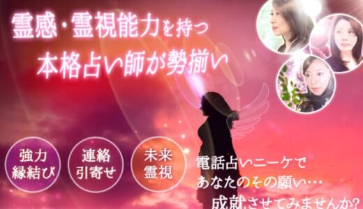 電話占いニーケ|珠世(たまよ)先生の口コミ【優しさ溢れる霊視】
